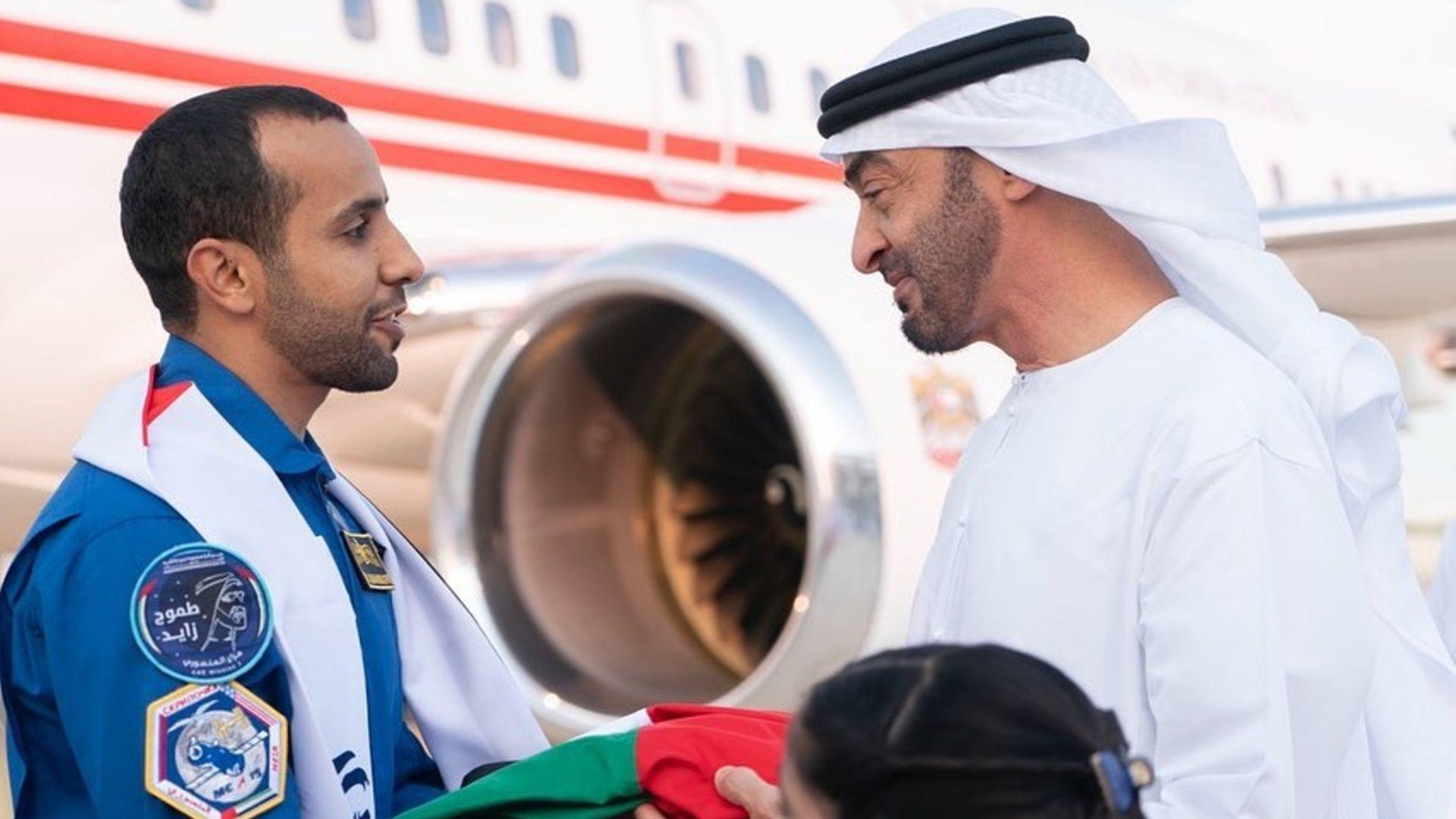 All The Ways That The UAE Is Celebrating Hazza AlMansouri