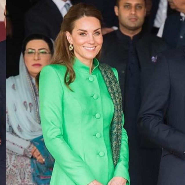 Every Single Outfit From Kate Middleton's Pakistan Tour