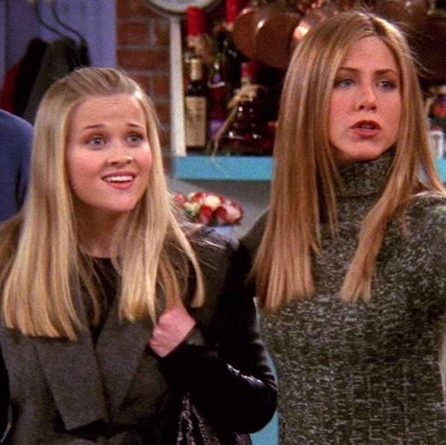 Jennifer Aniston and Reese Witherspoon Recreate Their Iconic Scene in Friends