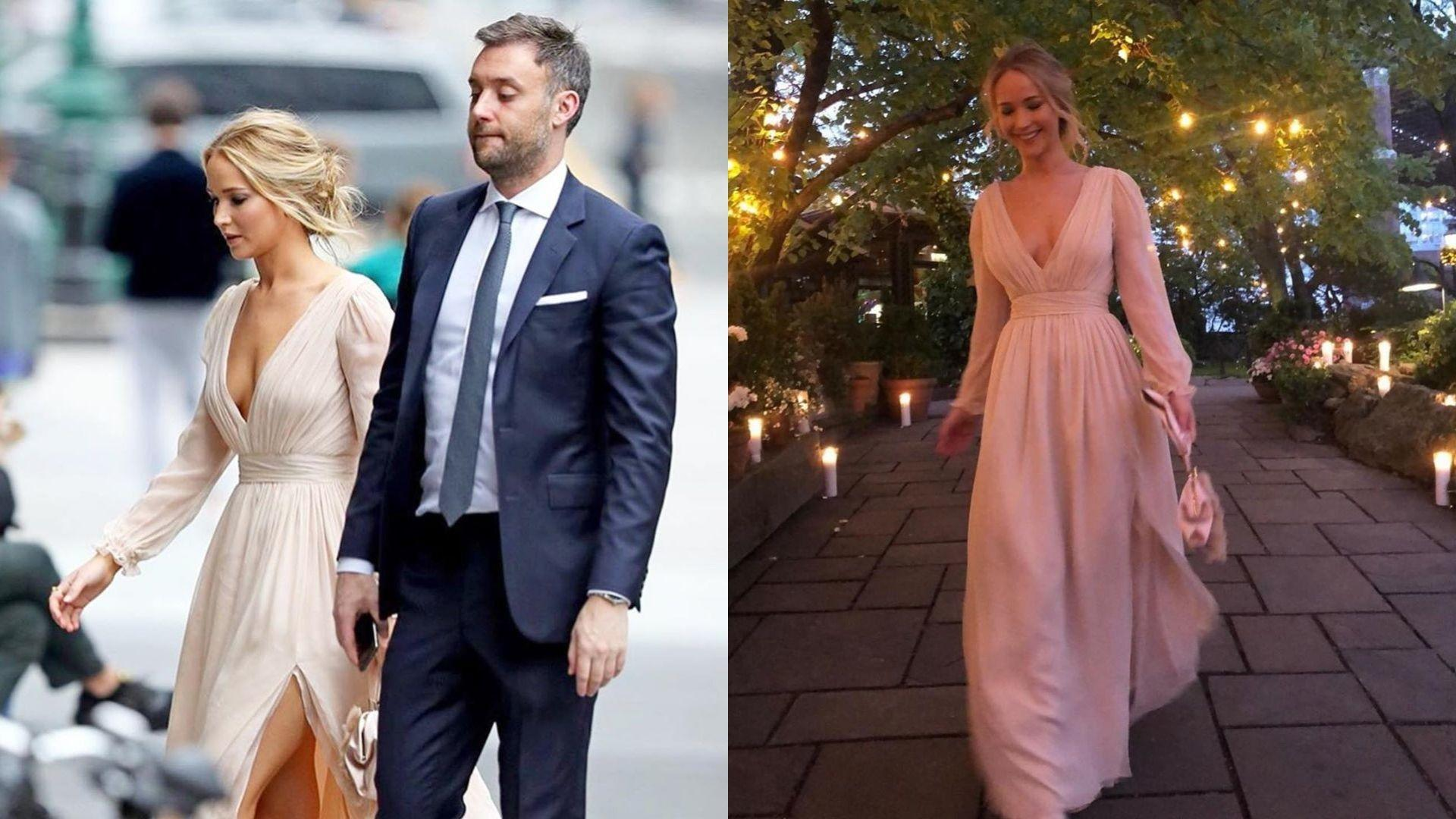 Jennifer Lawrence And Cooke Maroney Hosted A Clambake For Their Wedding Rehearsal Dinner