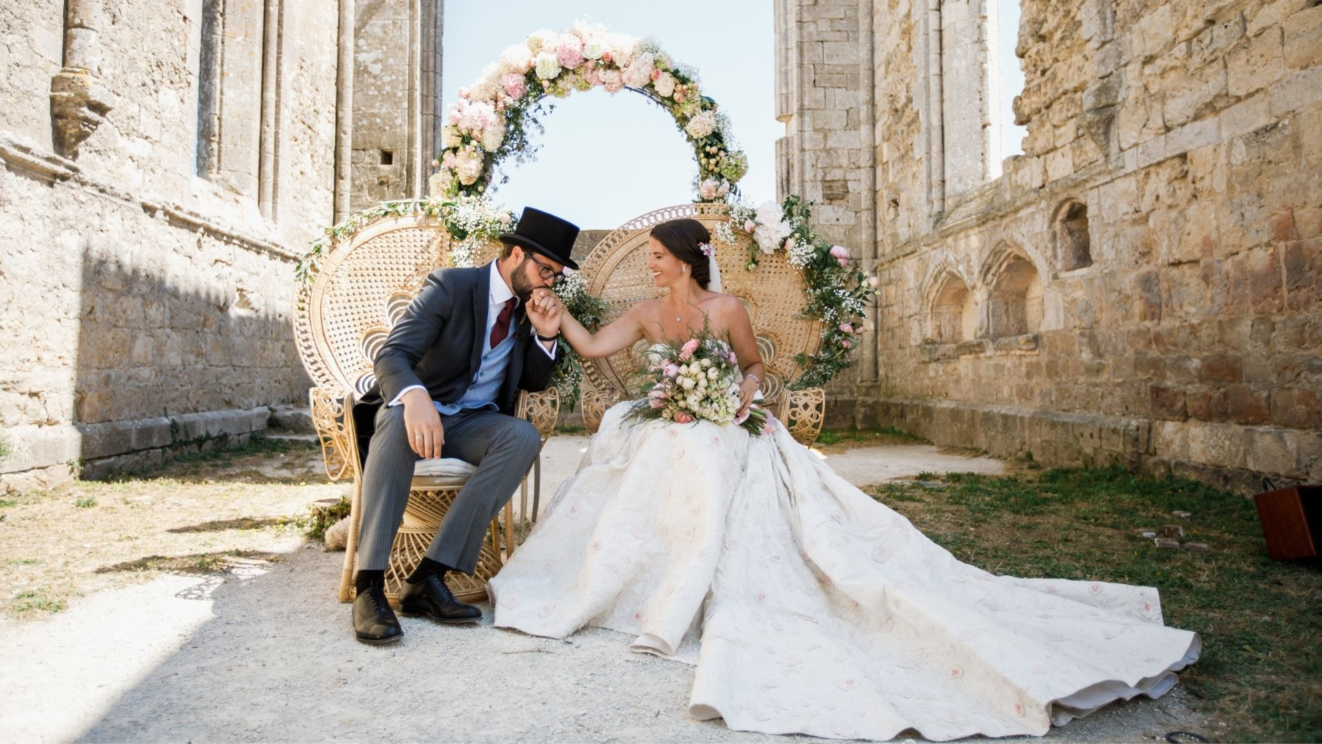 Inside The Wedding Of Charlotte Ricard-Quesada And Antonio Quesada