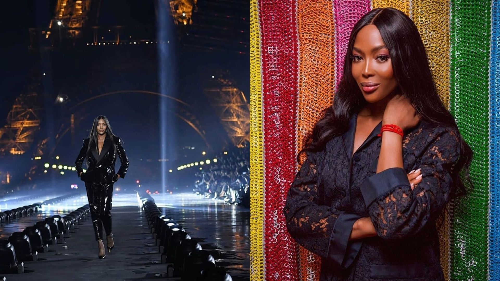 Naomi Campbell Discussed How It Felt To Be The Token Black Model On A Runway