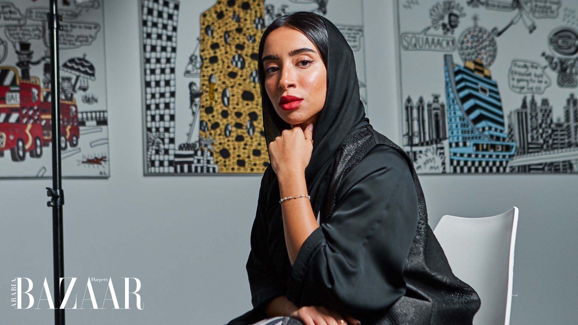 An Exclusive Look Into Zeinab AlHashemi's Artistic Awakening