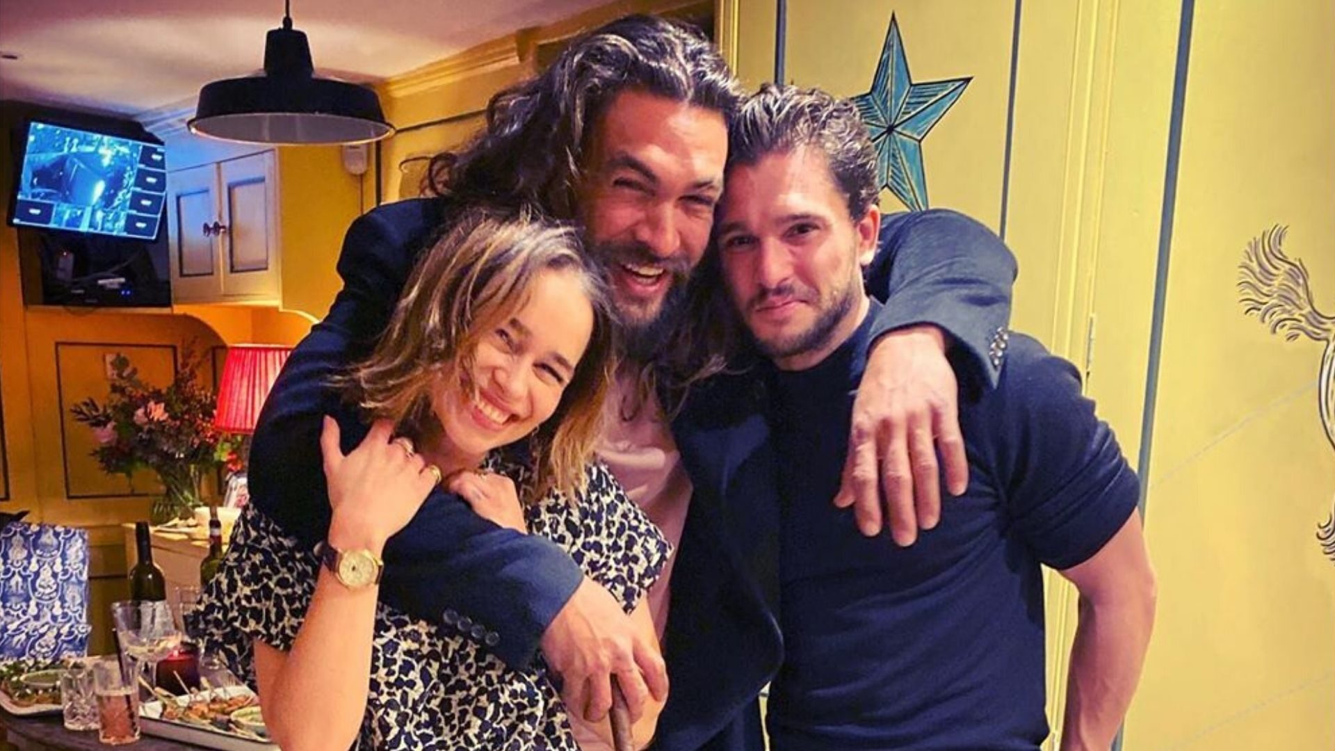 """Emilia Clarke Just Called The Game Of Thrones Reunion """"Hairy"""""""