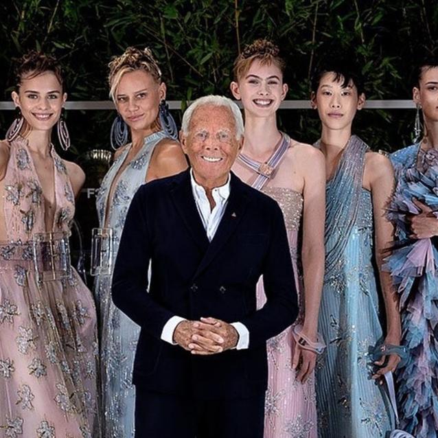 Giorgio Armani Is Bringing His Legendary Fashion Show To Dubai