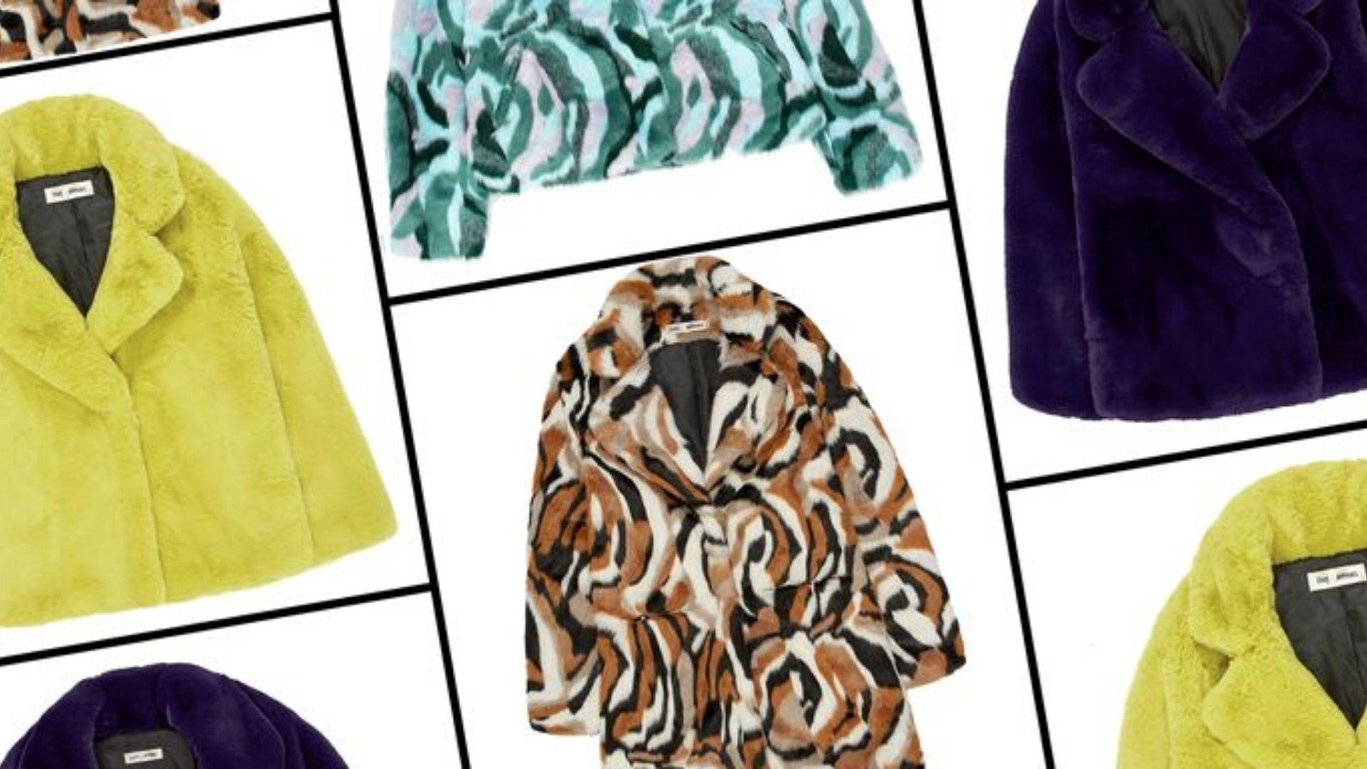 Diane Von Furstenberg And Apparis Debut Faux Fur Coat Collaboration