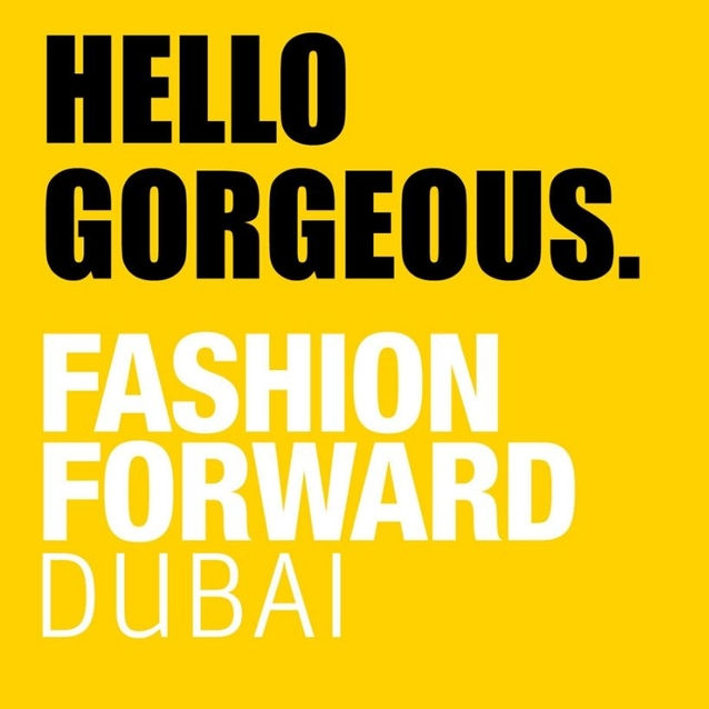 Fashion Forward Dubai 2019: The Complete Schedule