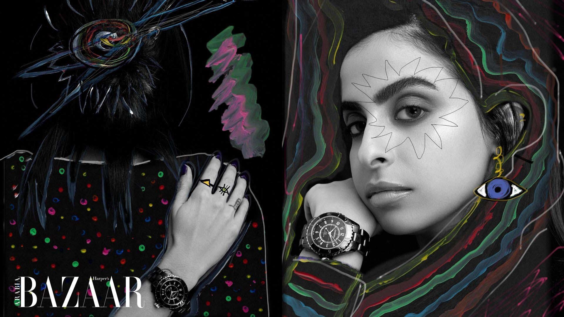 Watch | Delve Into The Mesmerising World Of Saudi Artist Ghaida Al Ghanim