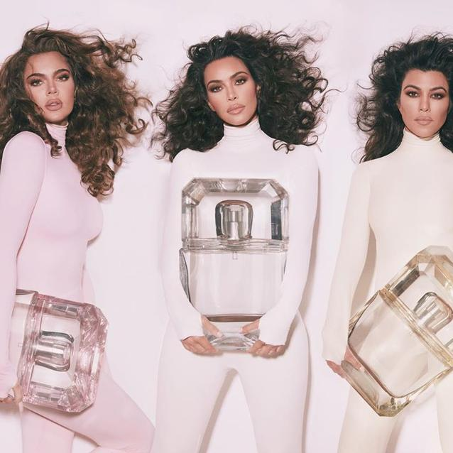 The Kardashian Sisters Just Released New KKW Fragrances Together