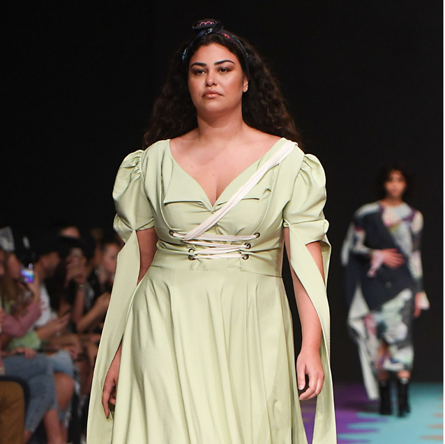 Plus-Size Models Take To The FFWD Runway For The First Time