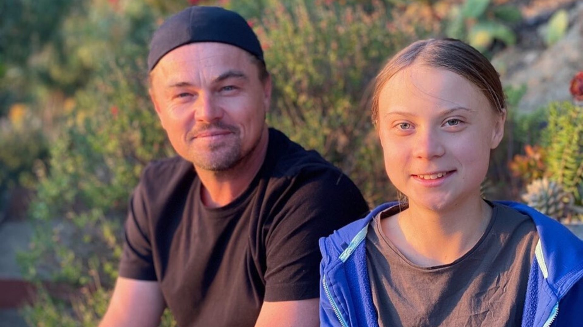 Leonardo DiCaprio Shares An Inspirational Message On Instagram With Greta Thunberg