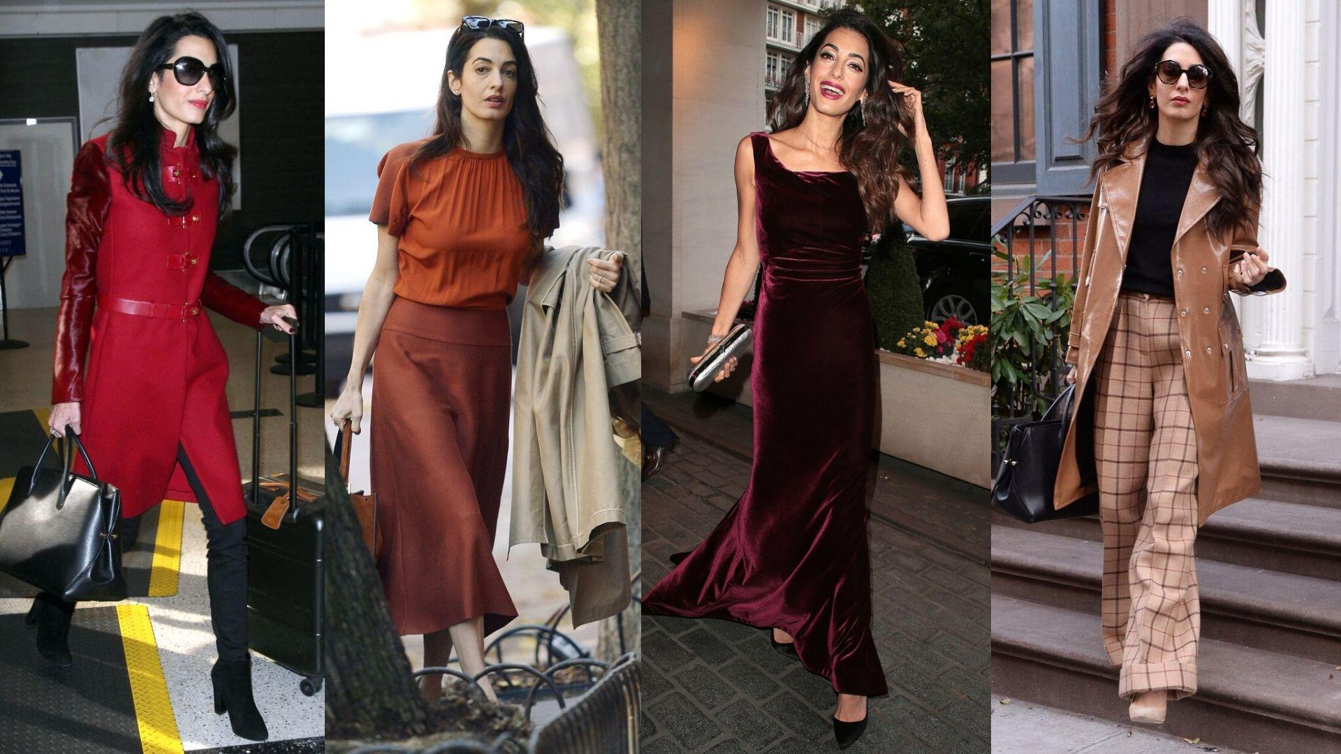 Amal Clooney's Best Autumn Outfits Of All Time
