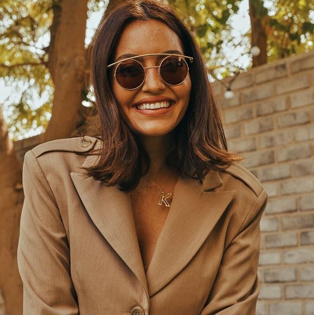 You Can Now Buy Karen Wazen's Sunglasses On Farfetch