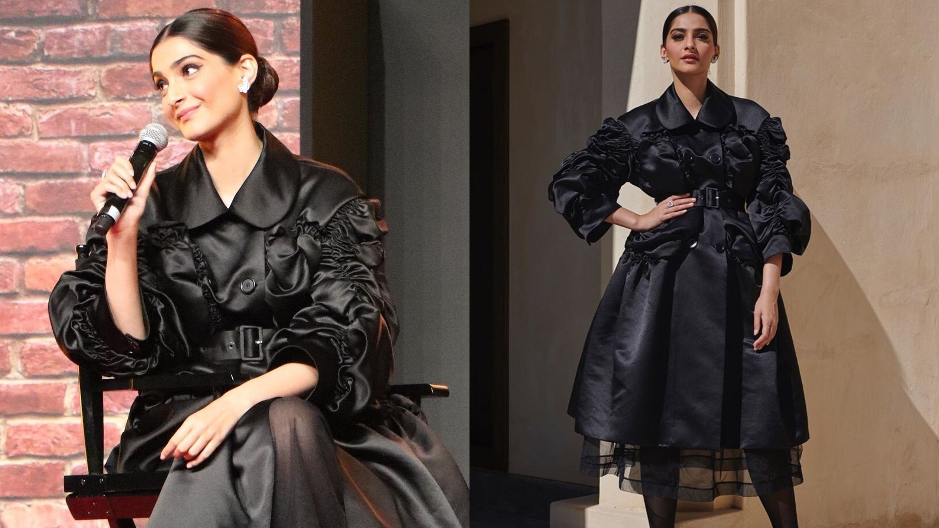 Sonam Kapoor Made A Stylish Appearance At The Sharjah International Book Fair