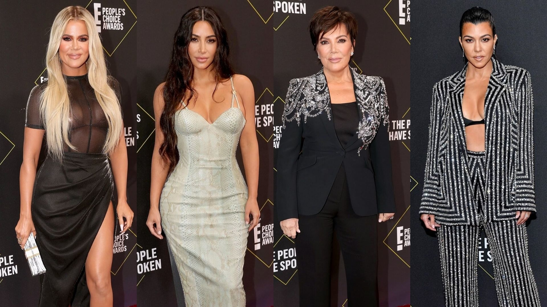 The Kardashians Just Shut Down The Red Carpet At The 2019 People's Choice Awards As Per Usual