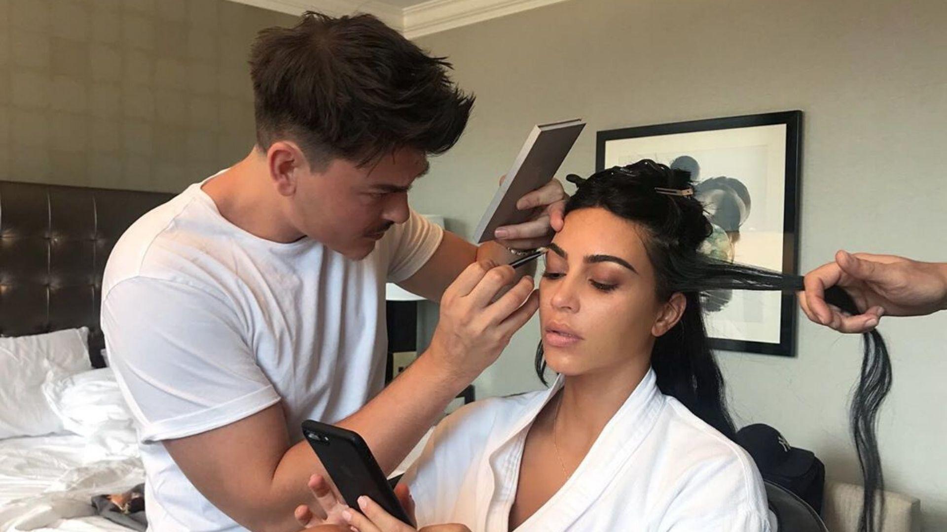 Kim Kardashian And Mario Dedivanovic Team Up For A New Makeup Collab