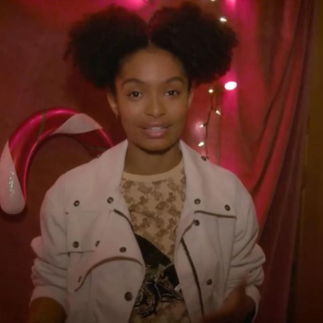 Watch | Yara Shahidi Shares Her Dad's Secret Holiday Recipe