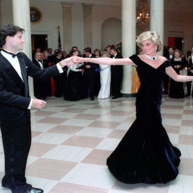 Princess Diana's Iconic Midnight Blue Dress Is On Sale For Dhs 1.3 Million