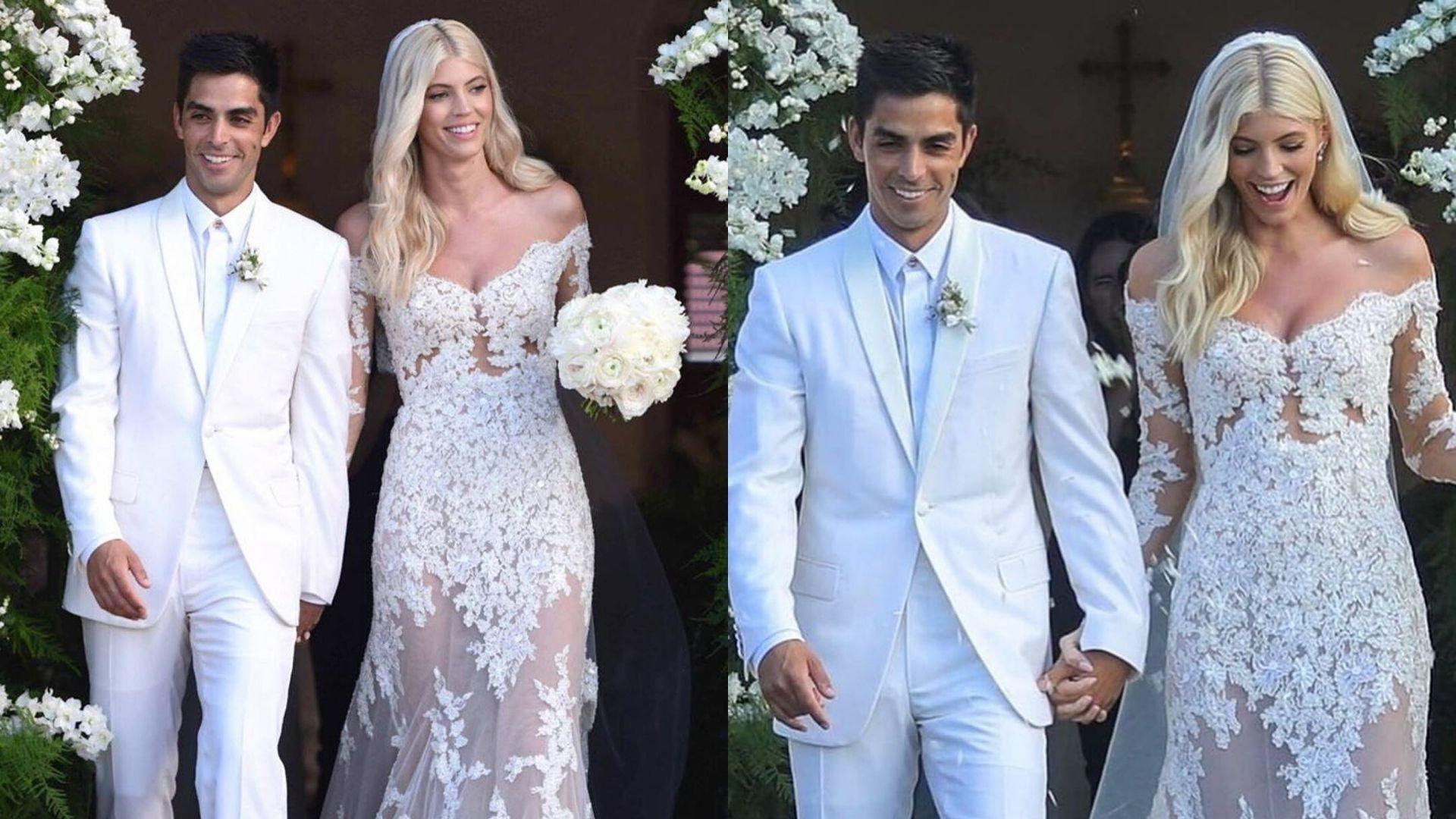 Victoria's Secret Model Devon Windsor Weds In Zuhair Murad