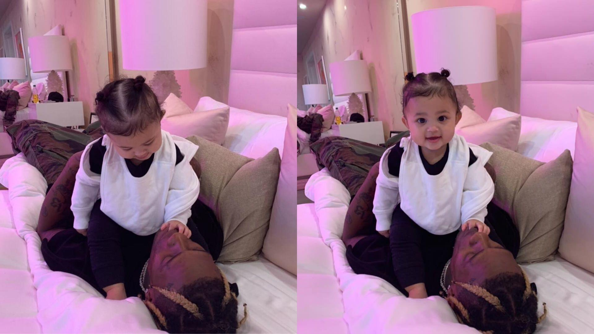 Stormi Webster Proves That She Is The Ultimate Daddy's Girl