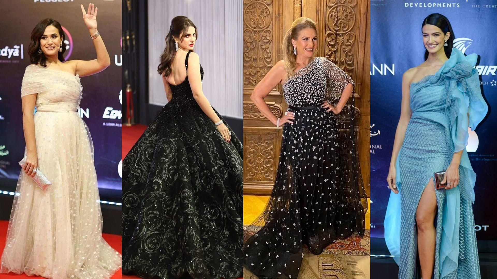 Best Dressed Celebrities: Cairo International Film Festival 2019