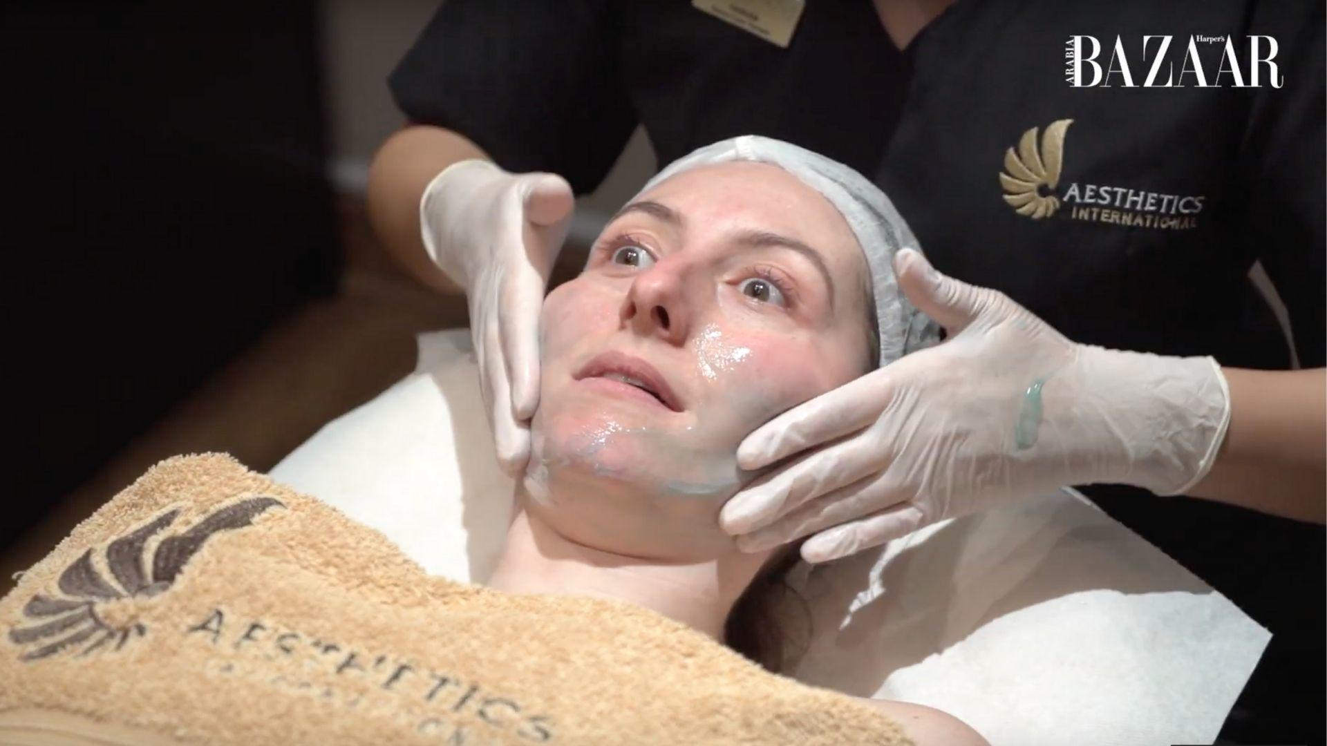 Watch   Bizarre Beauty: A Tale Of Two Extremes, A Fire And Ice Facial
