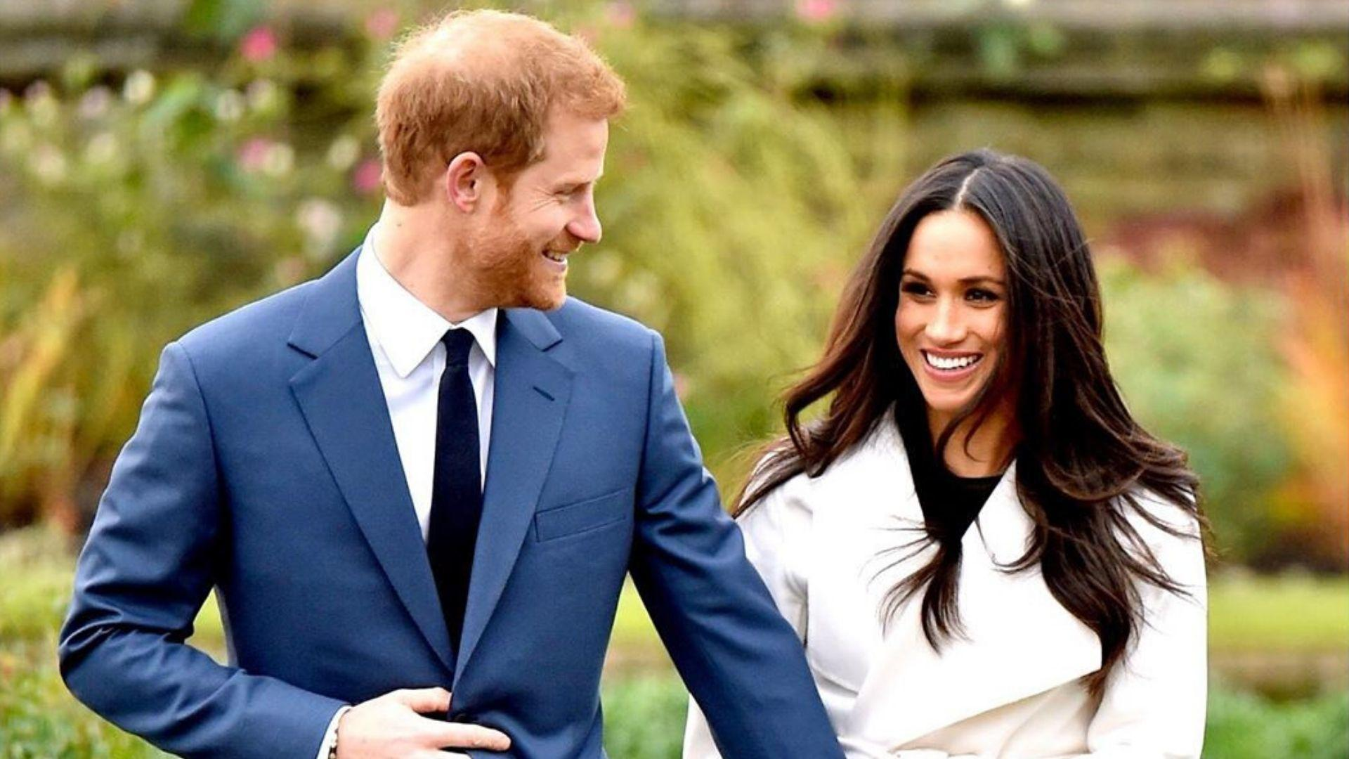 Meghan Markle And Prince Harry Share Rare Candids On Their Engagement Anniversary