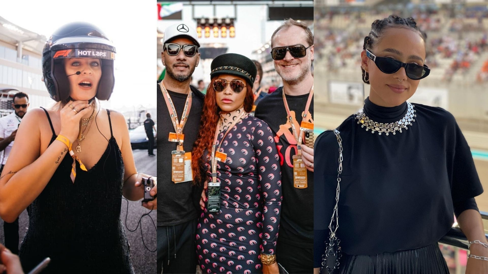 All The Celebs We Spotted At The F1