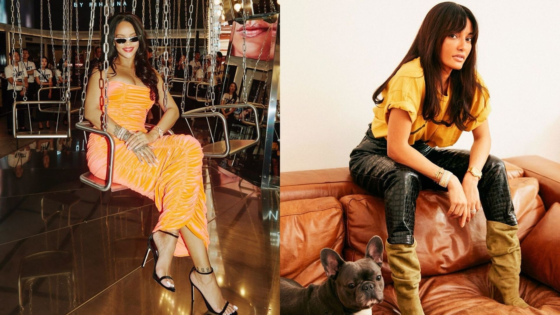 Rihanna Just Hired Amina Muaddi To Design For Fenty