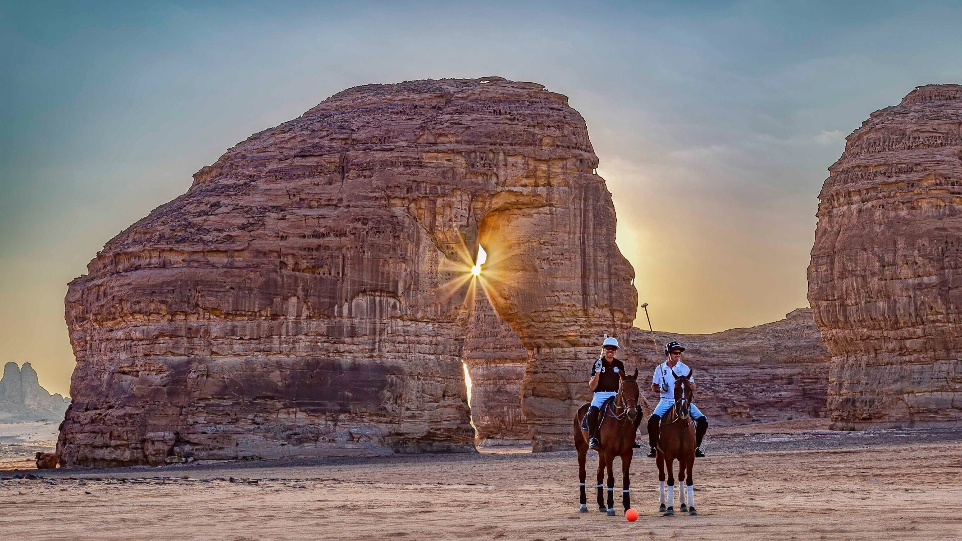 Saudi Arabia Is Hosting The World's First Ever Desert Polo Tournament