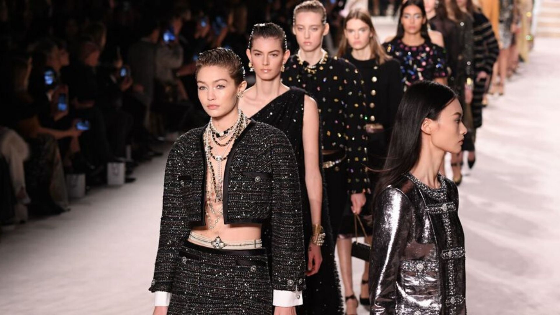 Chanel Rings In The Pre-Fall Collections With Some Chic Logo Looks