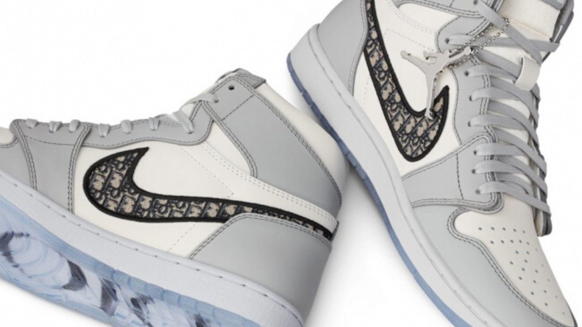 Dior Collaborates With Air Jordan On Air Dior Sneakers