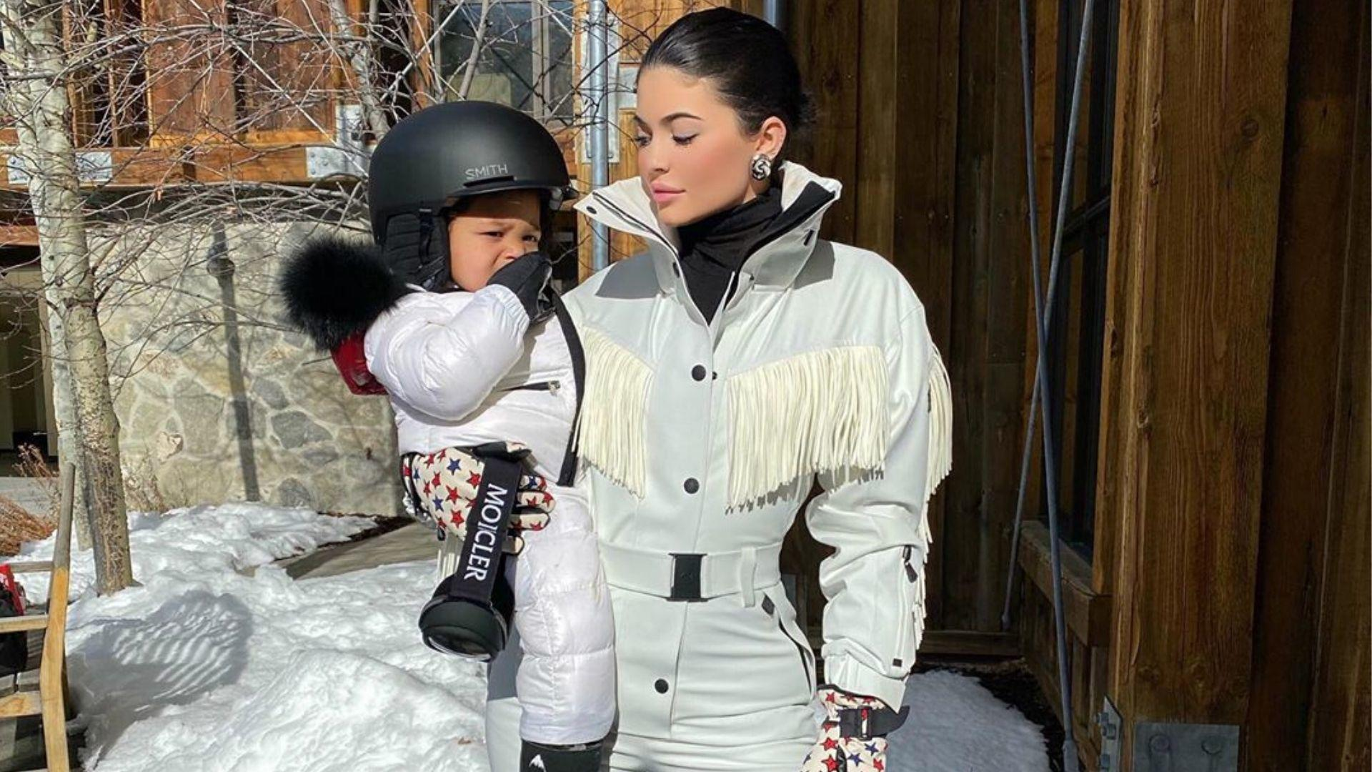 Meet One-Year-Old Snowboarder Extraordinaire: Stormi Webster