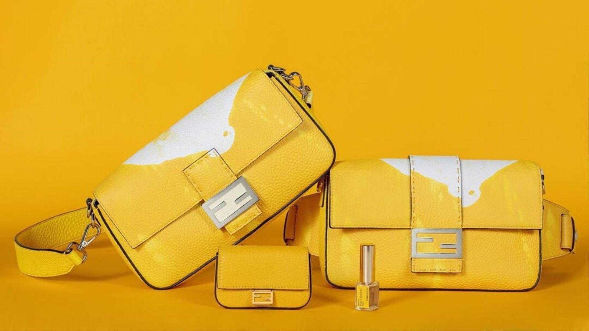 Fendi Unveils The World's First Fragrance-Infused Handbags