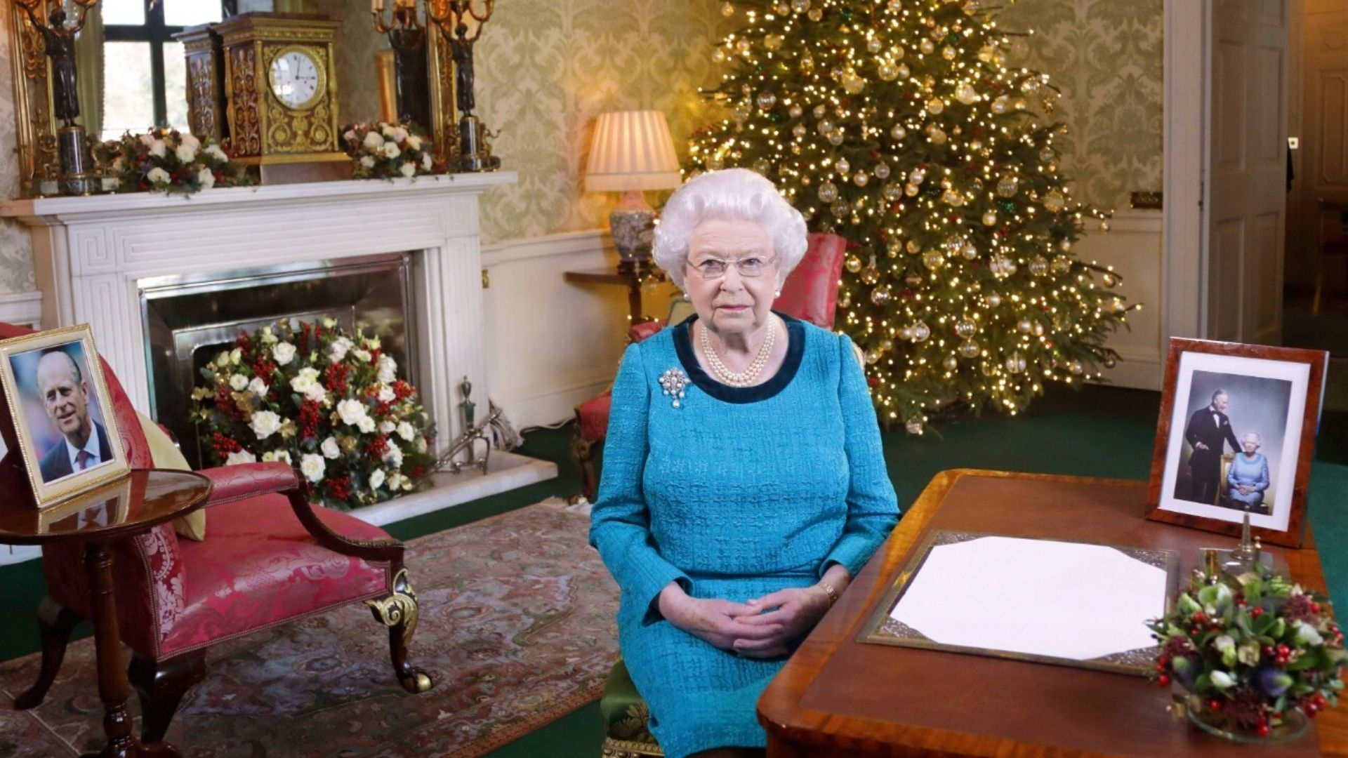 Queen Elizabeth Wears Seven Different Outfits On Christmas Day Each Year