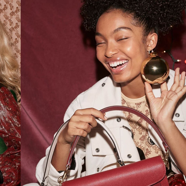 Coach's Holiday Campaign Will Give You All The Festive Feels