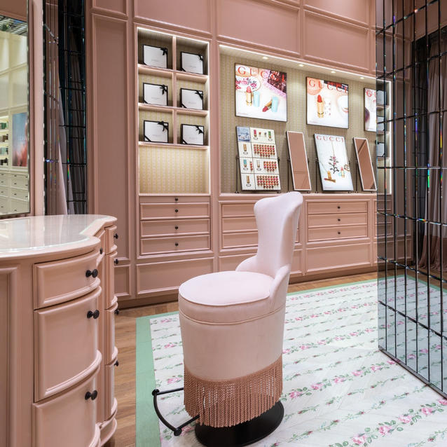 In Pictures: Gucci Beauty Just Opened Its Dreamy New Boutique In Mall Of The Emirates