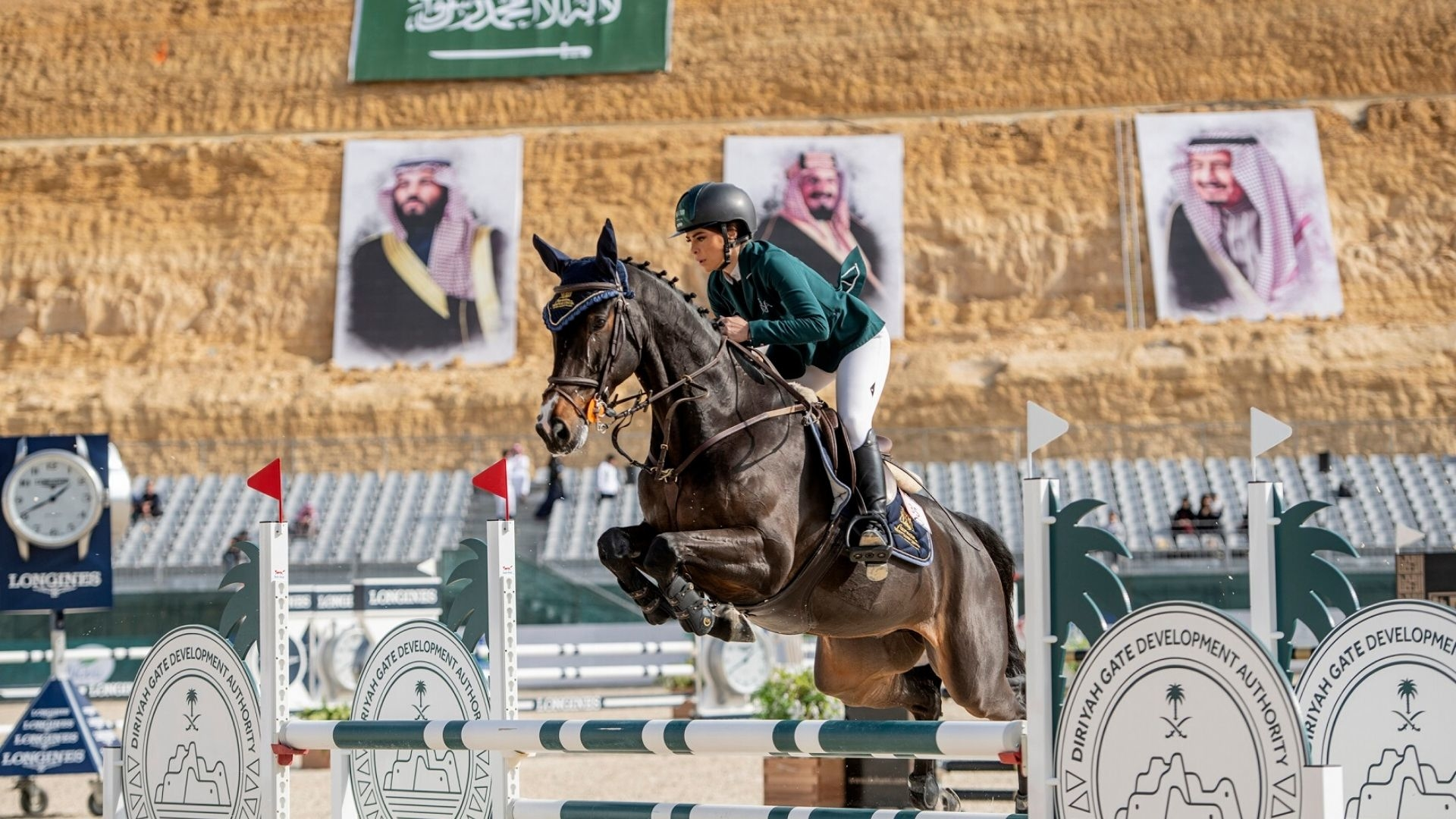 Saudi Female Horse Riders Make History Competing Alongside Men In Diriyah Equestrian Festival