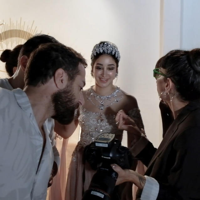 Watch   Aseel Omran Takes Us Behind The Scenes On Her Latest Shoot