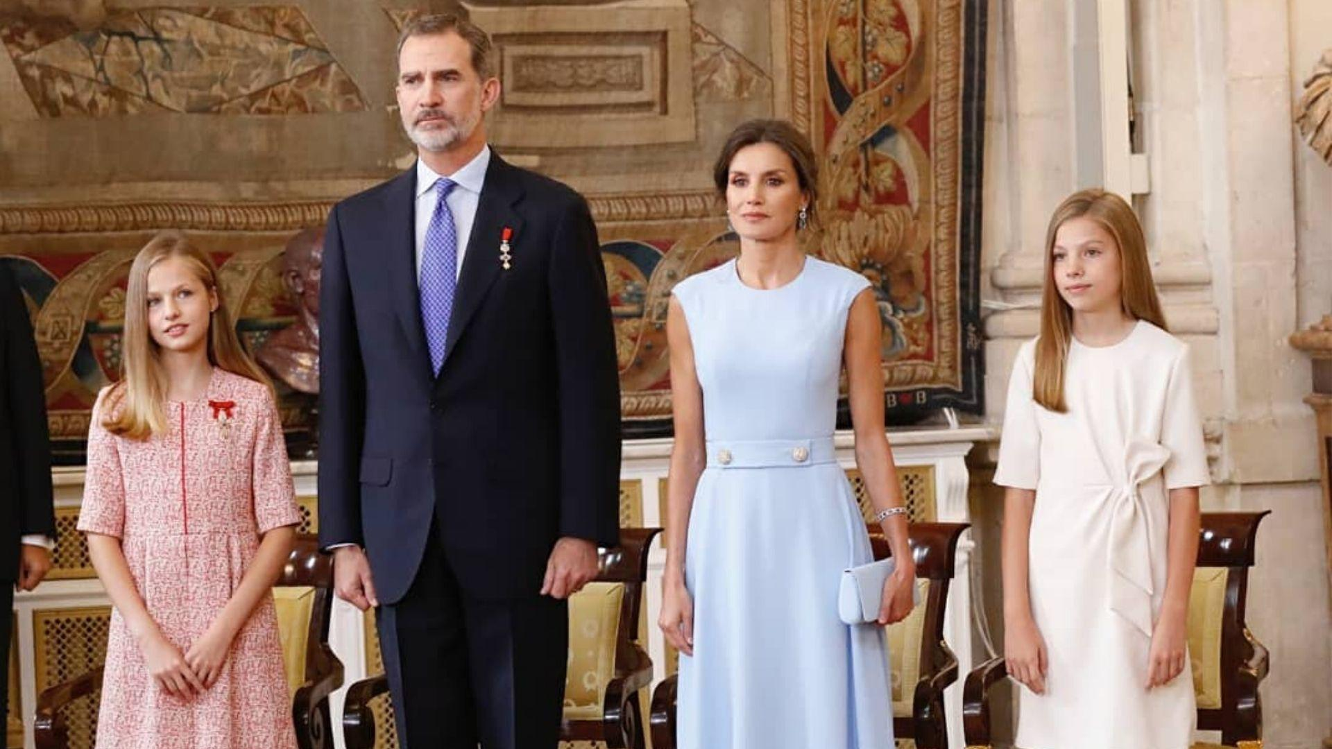 The Spanish Royal Family Share Their Annual Christmas Card