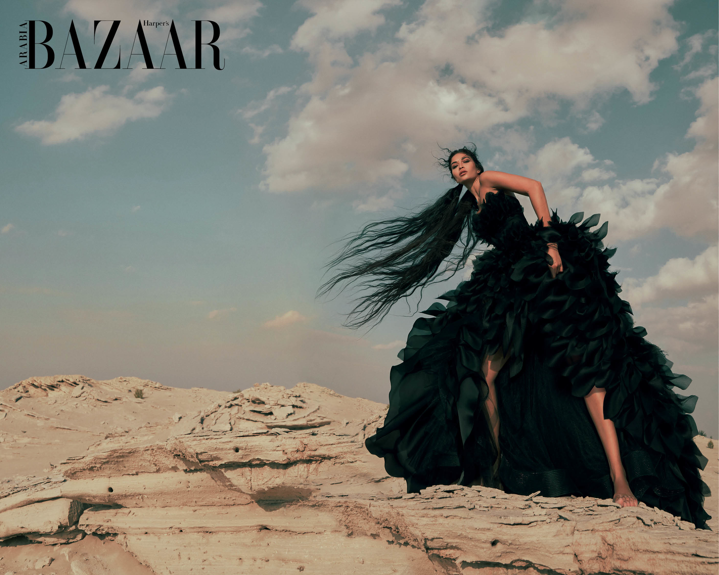 Watch | Go Behind-The-Scenes On Our January Cover Shoot With Shanina Shaik