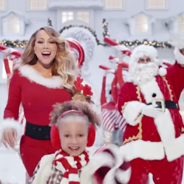 "Watch | Mariah Carey's Magical New ""All I Want For Christmas"" Video"