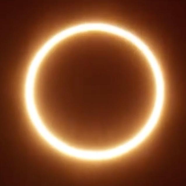 Watch   Sheikh Hamdan Shares Epic Footage Of The Solar Eclipse