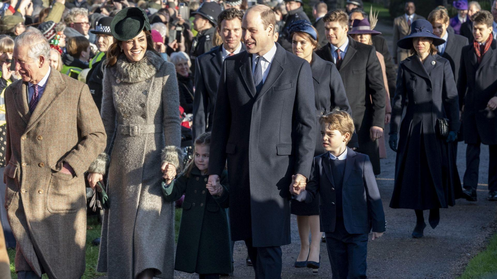Here's How The British Royals Spent Christmas