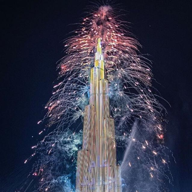 Watch | Dubai's Burj Khalifa Rang In 2020 With a Spectacular Fireworks Display
