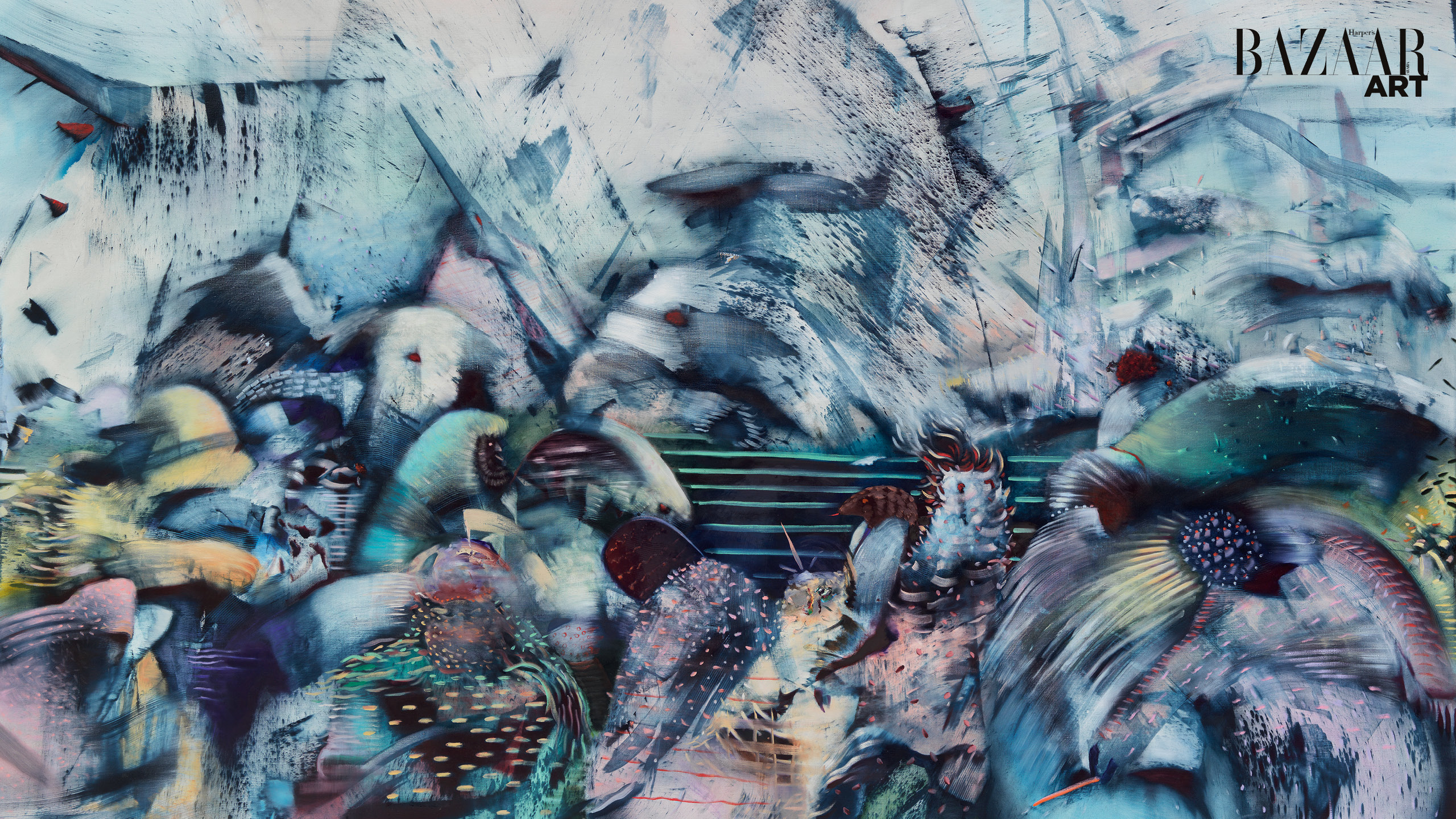 New York-Based Artist Ali Banisadr Presents The Beauty In Chaos