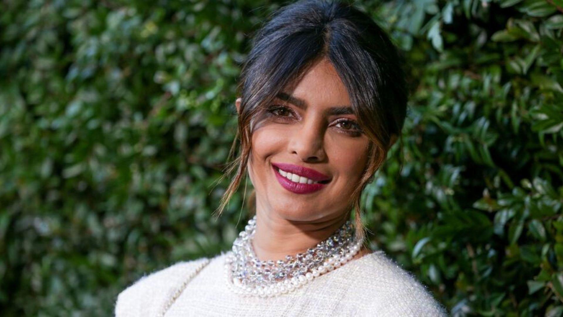 Priyanka Chopra Stole The Show Wearing A Lebanese Designer Gown At The 2020 Pre-Grammy Gala