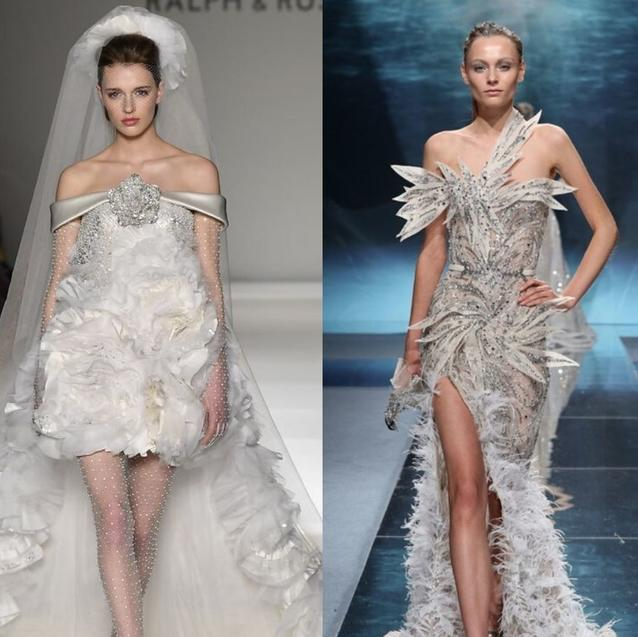 These Bridal-Worthy Gowns From Paris Haute Couture Week Will Make Your Heart Flutter