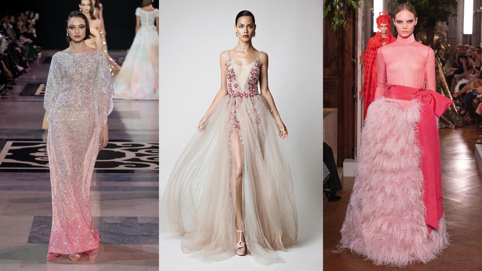 9 Ways To Nail A Rose-Hued Bridal Look