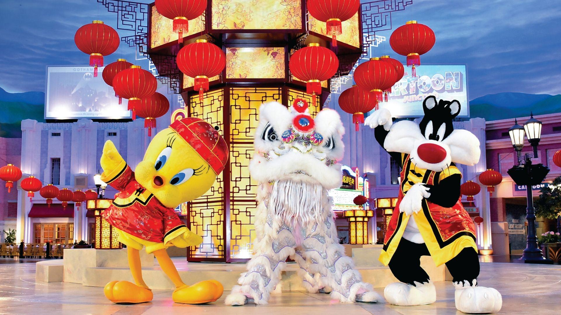 Warner Bros. World Abu Dhabi Is Celebrating Chinese New Year In The Cutest Way